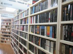 Inventaire de livres usagés catégorie policier