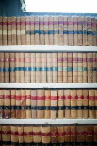 Collection de livres judiciaires anciens